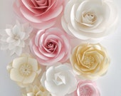 Paper Flower Wall - Weddi...