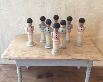 Miniature Toy Soldier, Dollhouse Toys, Dollhouse, Miniature Toys, Scandinavian Toys, Miniature Guards
