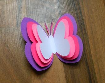 Butterflies Paper Art Kit for Kids