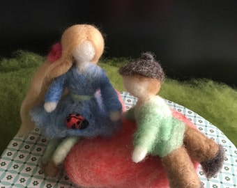 Needle Felted Figures  Art Figures  Art Doll  s   Waldorf Inspired Dolls  Room Ideas  Gift Ideas