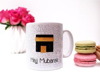 Hajj Mubarak Islamic Mug