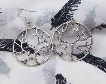 Yggdrasil [Tree of Life] Earrings, Large