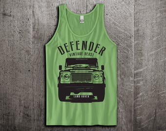 Land Rover Tank Top, Defender t shirts, Jeep shirts, Jeep tanks, Land Rover classic shirts, Truck t shirts, Unisex Tank Tops Motomotiveink