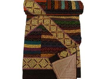 Applique Patchwork Embroidered Bedsheets-Bedspreads