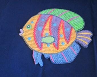 TROPICAL FISH WALLHANGING