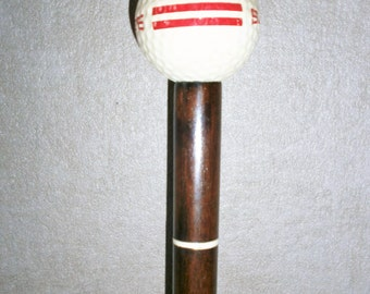 Original cane of Collection for golfer / / / mahogany/os / / brass - Original Golf french Stick / / / Mahogany/Bone / / Brass