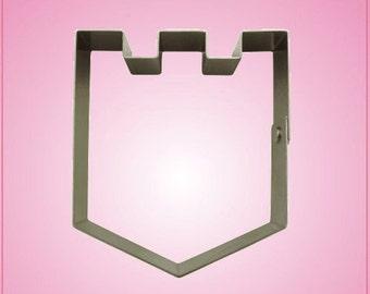 Castle Top Shield Cookie Cutter