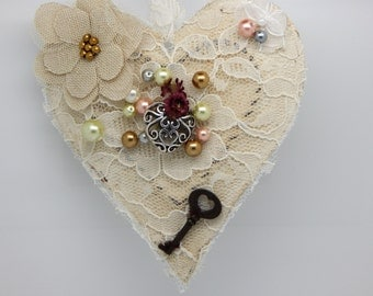 Vintage Styled Heart