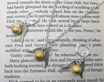 """Shop """"golden snitch necklace"""" in Jewelry Sets"""