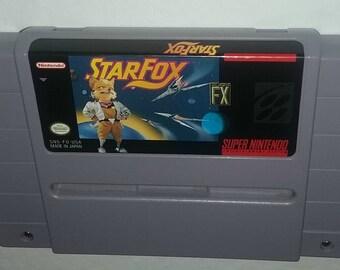Star Fox Super Nintendo Video Game