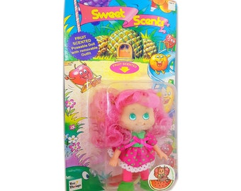 """Vintage Toy Things Sweet Scents Doll 5-1/2"""" No. 4232 - Watermelon"""
