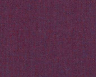 Kaffe Fassett - Wovens - Shot Cotton - Prune - Free Spirit - Priced Per Yard