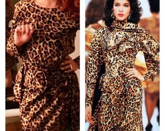 Saint Laurent 1986/87 dress