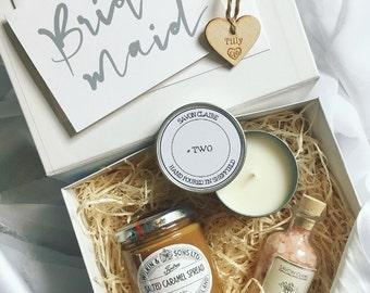 Bridesmaid box, luxury bridesmaid box, bride gift, bridesmaid gift, gift box, luxury hamper, wedding morning gift, hamper, wedding gift