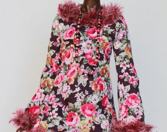 Flame of Rose boho dress for Poppy or FR3 and Nu.face2