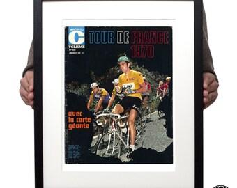 Tour de France 1970 magazine cover print