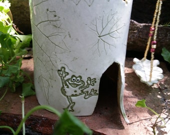 Happy Frog Faerie House  #131