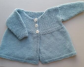 Baby matinee jacket, 0-3 months