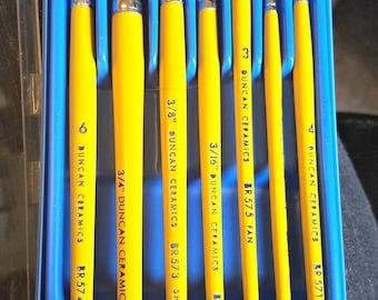 Duncan Hobby Ceramic Brush Set #BR577 - Ready To Ship