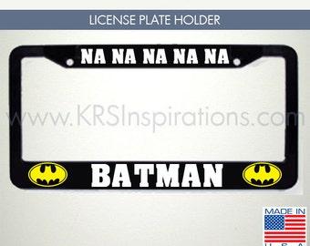 Batman License Plate Etsy