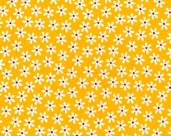 Yellow Daisies Cotton Poplin Print