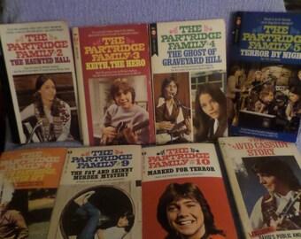 Partridge Family Book lot plush David Cassidy paperback  I think I love you Hello world Sing
