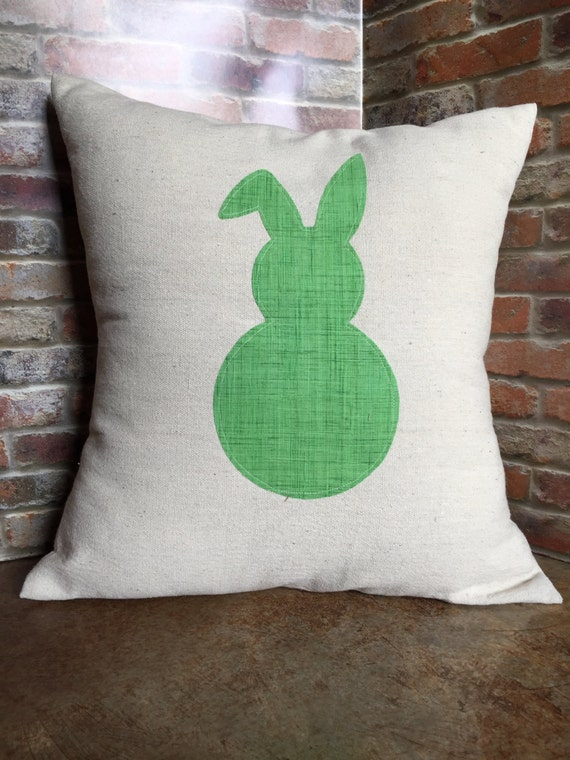 Easter Throw Pillow Covers : Easter Pillow Cover Easter Bunny Pillow Throw Pillow Cover