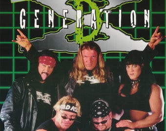 Wrestling WWF D-Generation X Poster
