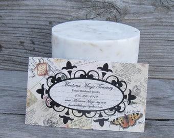 Oatmeal milk and honey soap Vitamin E goats milk soap moisturizing
