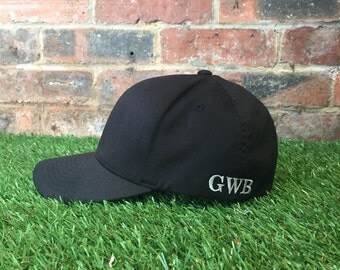 Flexifit monogramed baseball cap-The Hayden