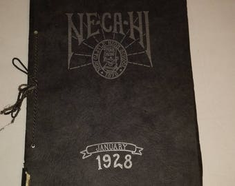 1928 New Castle High School yearbook -- New Castle PA -- Ne-Ca-Hi