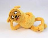 Adventure Time, Jake the Dog, poseable art doll OOAK