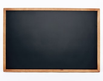 Framed Wooden Magnetic Chalkboard - 24x36