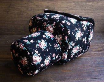 DSLR camera bag case cover floral pattern