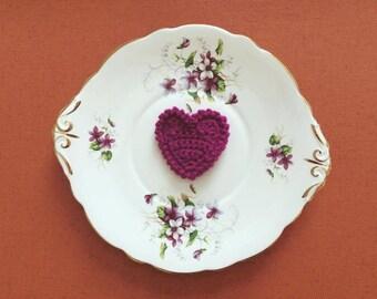 Hanging Purple Heart