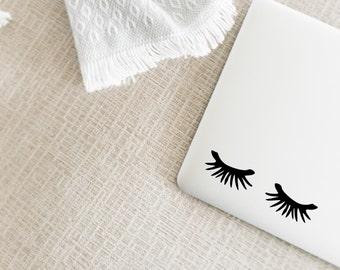 Eyelashes Decal - Read Item Details!