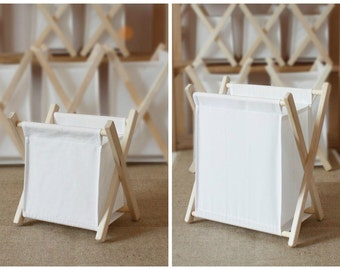 White boxes Home furniture Space organiser Collapsible box Baskets and Bowls Stylish and easy