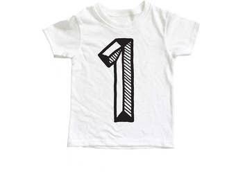 First Birthday Shirt, Number One Shirt, One shirt, First Birthday Outfit, First Birthday Shirt Girl boy
