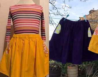 Bespoke girls skirt, bespoke toddler skirt, bespoke party skirt, custom girls skirt, custom toddler skirt, custom girls party skirt
