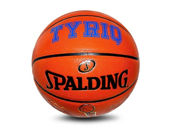 Customized Personalized Spalding Limited Edition Games Series Basketball Official Size