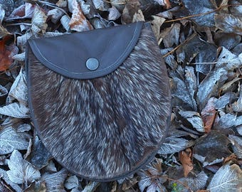 Vulpes Lagopus Vintage Arctic Fox Fur Sporran / Ladies Bag