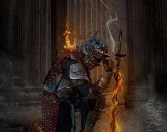 Dark Souls 3: Soul Of Cinder Cosplay Print