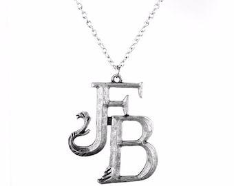 Logo Fantastic Beasts Necklace, Fantastic Beasts  pendant Necklace Fantastic Beasts, Film Inspired Pendant,Fantastic Beasts jewerly, pendant