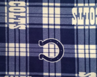 Indianapolis Colts No-Sew Blanket