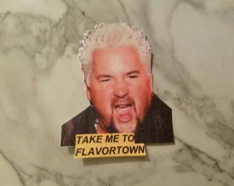 Guy Fieri Flavortown Sticker
