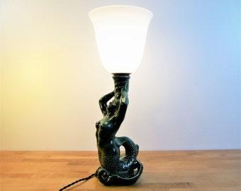 Big lamp Art Deco Mermaid