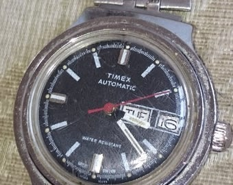 Timex Automatic Gents 38 mm Date 37568/10979  Dial 1979                                                                            .