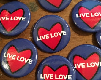 Live Love Buttons