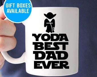 Yoda Best Dad Ever Mug, Fathers Day Mug, Father Gift, Dad Gift, Geek Dad, Dad Coffee Mug, Geek Dad Gift, Gift for Dad,