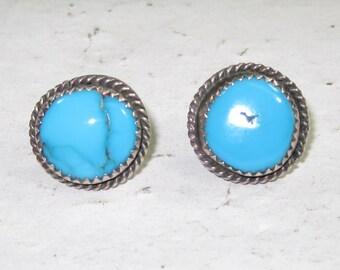 H-30 Vintage Earrings sterling silver